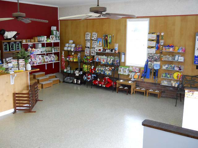 Our retail area. Shop around in the