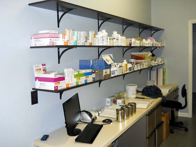 Our pharmacy--we fill your prescriptions so that you don't